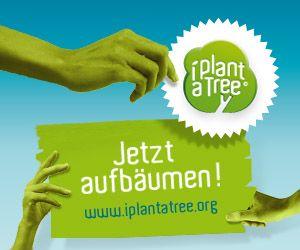 Bäume pflanzen mit iplantatree