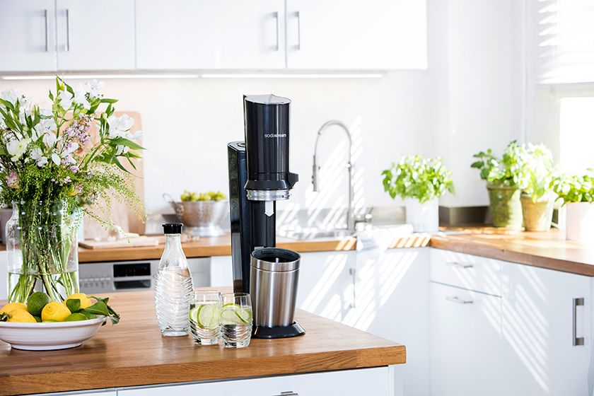 SodaStream Crystal 2.0 in der Küche