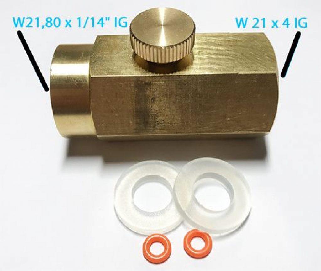 CO2-Adapter für SodaStream-Zylinder
